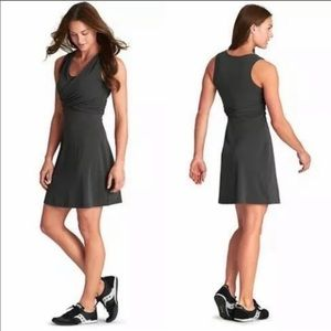 ATHLETA Charcoal Adriana Dress